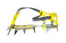 Salewa Aguille 2.0 Antiboot Walk steel/yellow